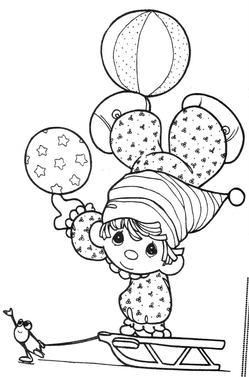 Dibujos de payasos de preciosos momentos - Imagui