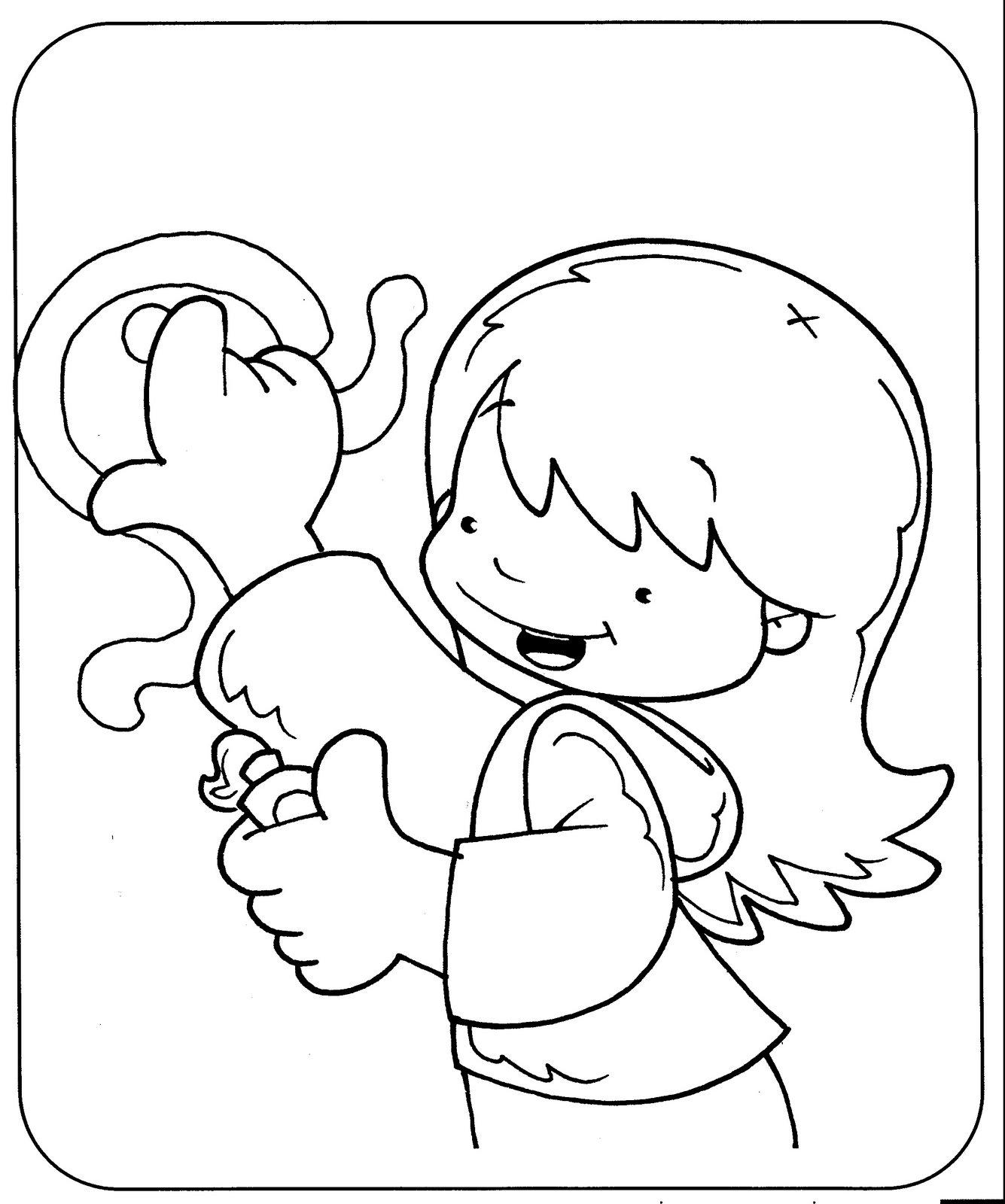 El rincon de la infancia: ♥ Rutinas Diarias (Dibujos )♥