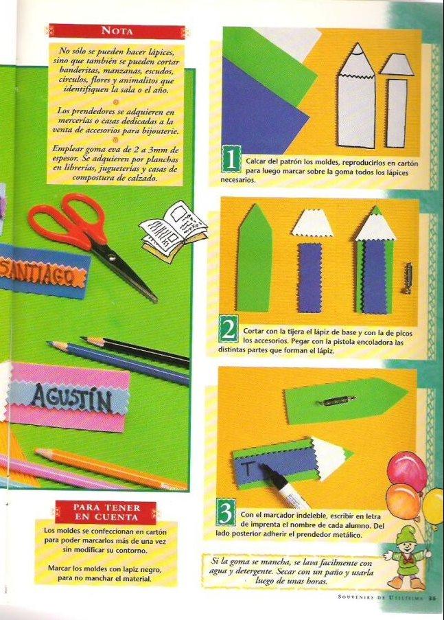 Distintivos de niños :: Educación Preescolar