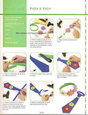 El rincon de la infancia: ♥Bincha y corbata con flores (Día de la ...