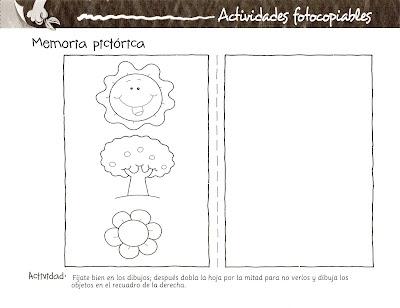 El rincon de la infancia actividades fotocopiables for Actividades para jardin