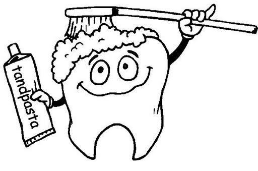 ... la infancia: ? Cuidemos nuestros dientes (dibujos para pintar