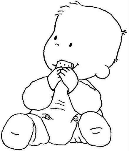 Dibujos Para Colorear De Bebes