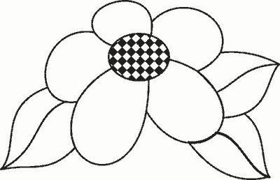 Mi coleccin de dibujos Flores para pintar