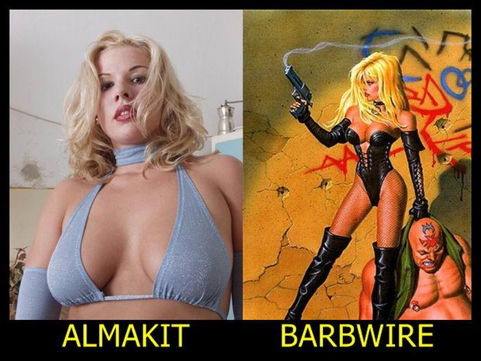 Almakit como Barbwire