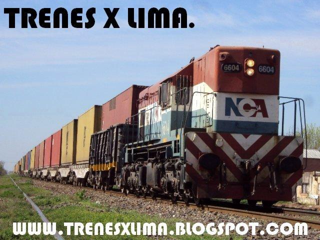 Trenes X Lima.