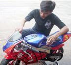 usaha moto race
