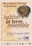 "Affiche  ""Rencontres 2005 """