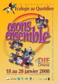 "Affiche "" Rencontres de l'Ecologie"" 2008"