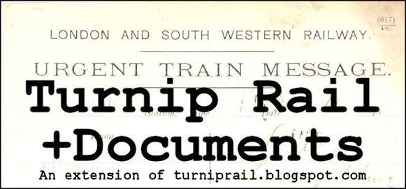 Turnip Rail Documents
