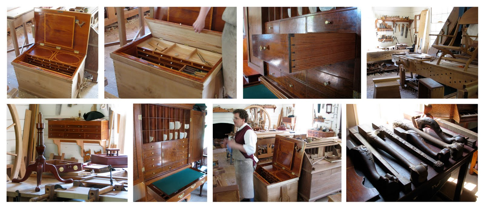 The Village Carpenter: Joiners And Cabinetmakers At Colonial Williamsburg