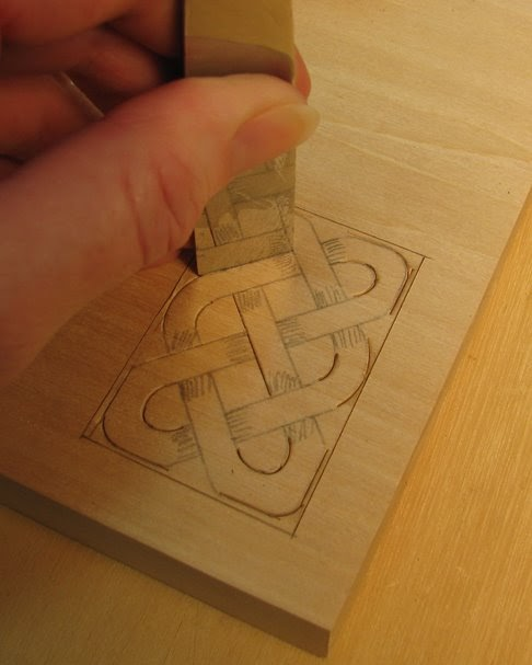 Ezboard round celtic knot carving ezcarving