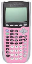 Texas Instruments TI-84 Plus Silver Edition Graphing Calculator (Pink)