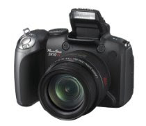 Canon Powershot SX10IS 10MP Digital Camera with 20x Wide Angle Optical Image Stabilized Zoom
