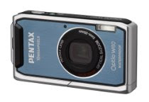Pentax Optio W60 Waterproof 10MP Digital Camera with 5x Wide Angle Optical Zoom (Ocean Blue)