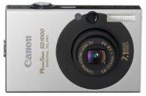 Canon PowerShot SD1000 7.1MP Digital Elph Camera with 3x Optical Zoom (Black)
