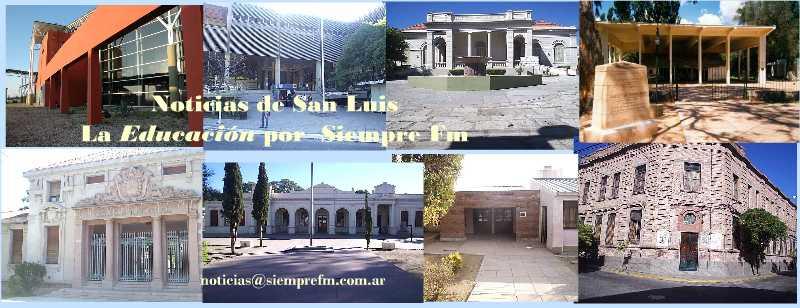 NOTICIAS DE EDUCACION DE LA PROVINCIA DE SAN LUIS - Argentina