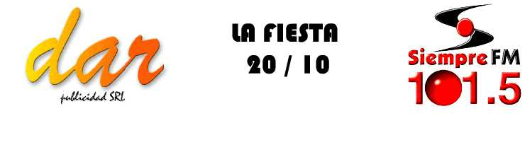 Fiesta 20/10...