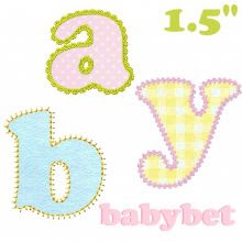 Babybet Applique Alphabet