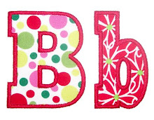 Chunky Applique Font
