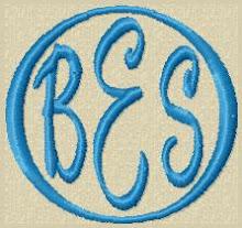 Circle Monogram 2