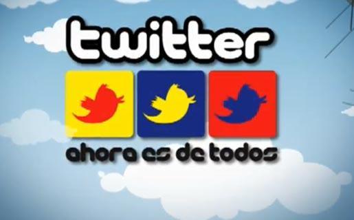 Twitter en Venezuela - Polémica campaña chavista.