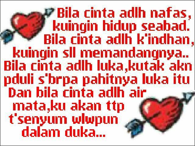 image gallery syair cinta