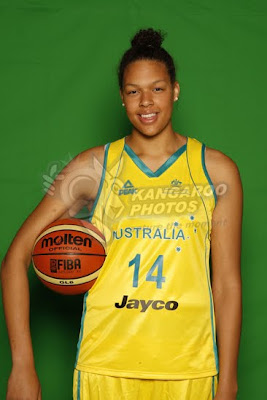 Australian Basketball Player Elizabeth Cambage