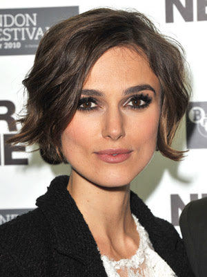 Keira Knightley Chin-Length Crop Hairstyle Picture