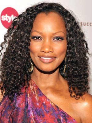 Garcelle Beauvais Long Black Curly Hairstyle