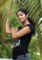 Rima kallingal in Black T-shirt