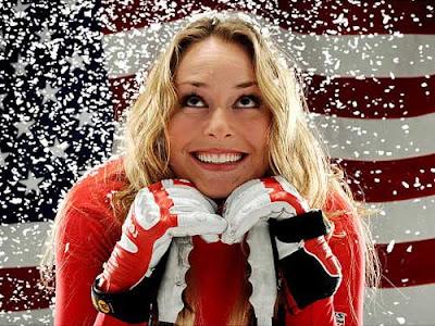 Lindsay vonn Cute Smile