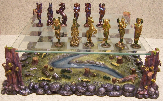 unusual and interesting chess set designs
