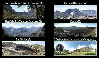 Panoramiques spheriques - visite virtuelle de La Reunion
