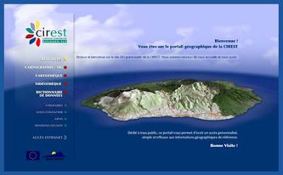 Portail geographique et cartographique de l'ESt de La Réunion