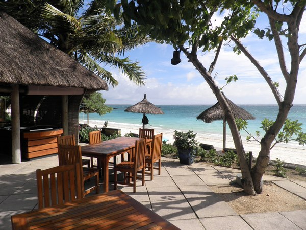 Restaurant La Kaze de l'hôtel Constance Belle Mare plage