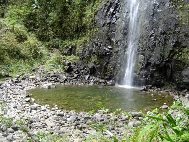 Cascade et bassin du Bras d'Annette