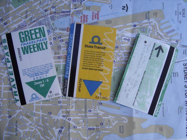 Sydney Pass pour un transport sur tout le réseau