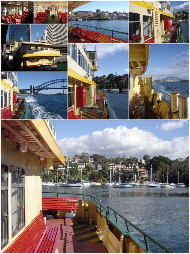 Sydney ferries : ambiance à bord