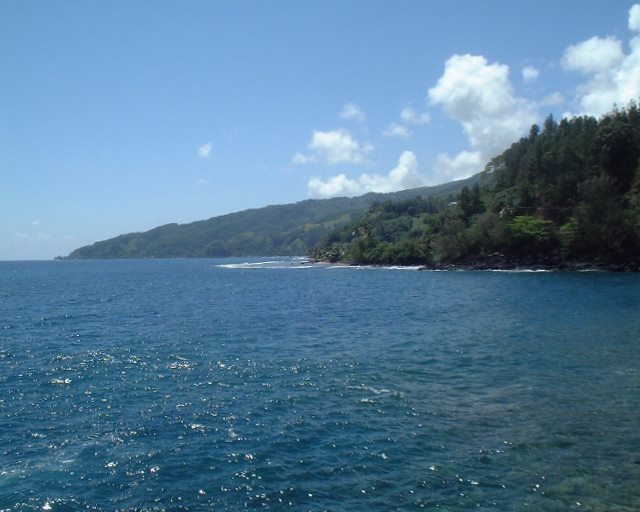 Cote Est de Tahiti