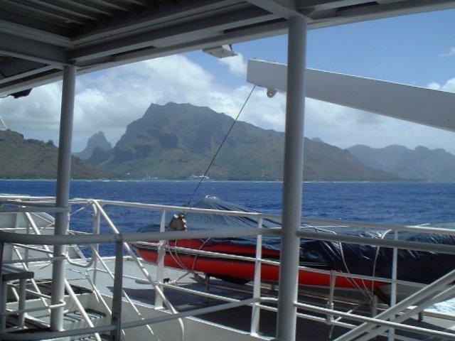 Ferry Tahiti Moorea