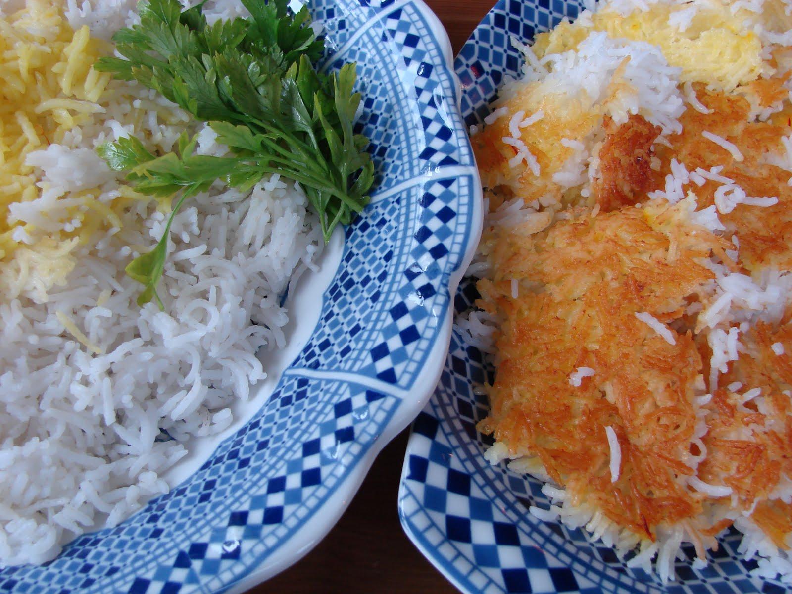 Halal Mama: Plain Persian Rice and Tah-dig