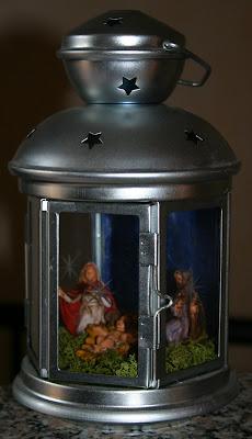 Fantasia blog qualche idea per natale presepi sotto vetro - Barattoli vetro ikea ...