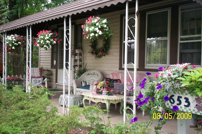 our cottage front porch