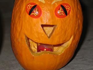Freaky Eyes Pumpkin