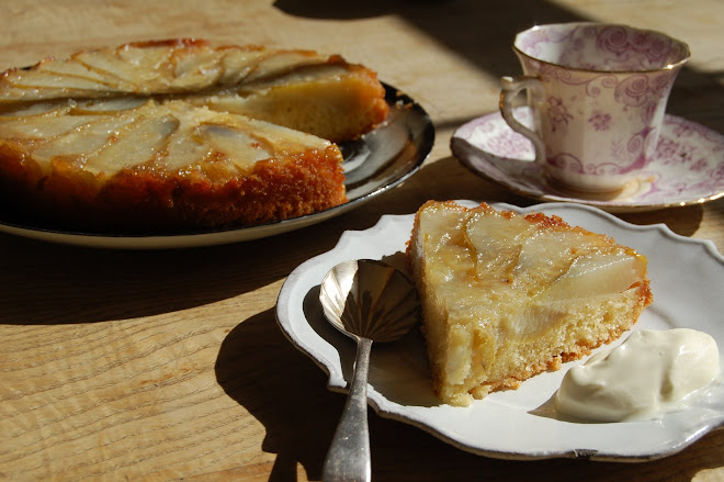 Omelie's Upside down Pear cake