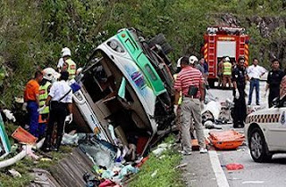 kemalangan bas simpang pulai