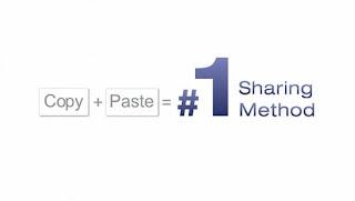 copy paste sharing method