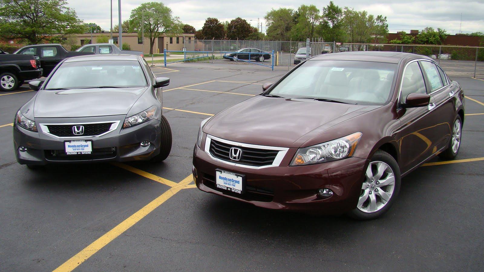 Honda On Grand Accord Coupe Vs Accord Sedan