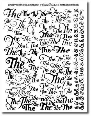 free clip art  typographic